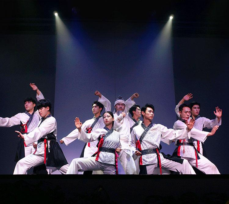 태권 마샬아트 공연 |제주아리랑 혼