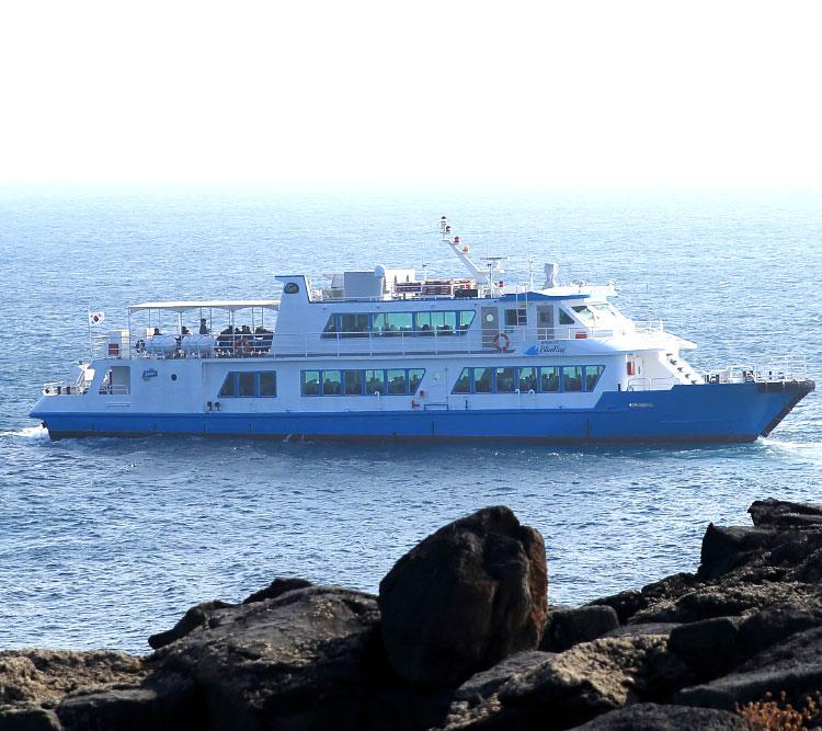 마라도정기여객선+환상의짜장_운진항출발