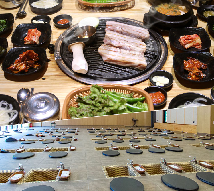 진돼지+본초족욕_수목원길 |제주맛집|