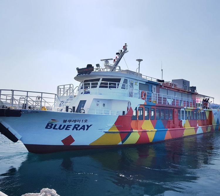 가파도왕복여객선+카멜리아힐